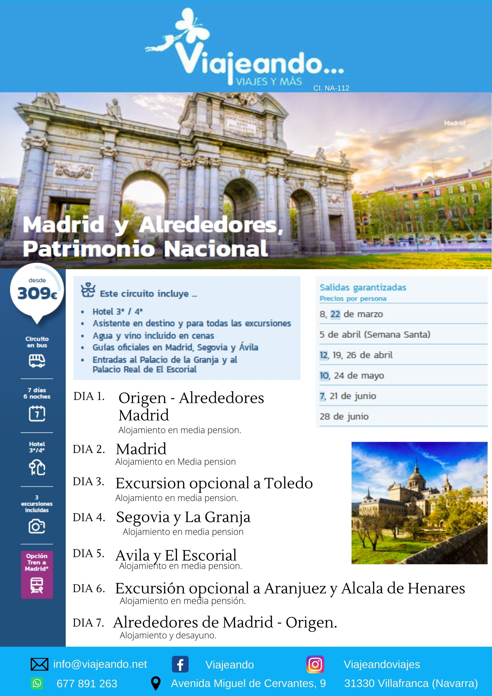 Madrid y Alrededores