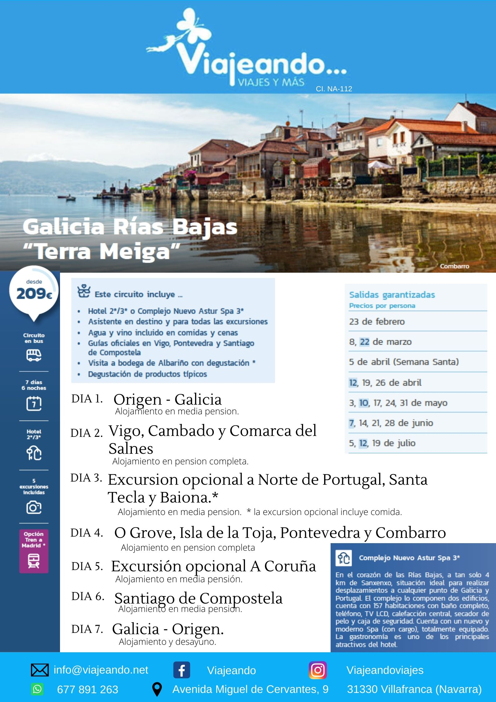Rias Bajas, Galicia