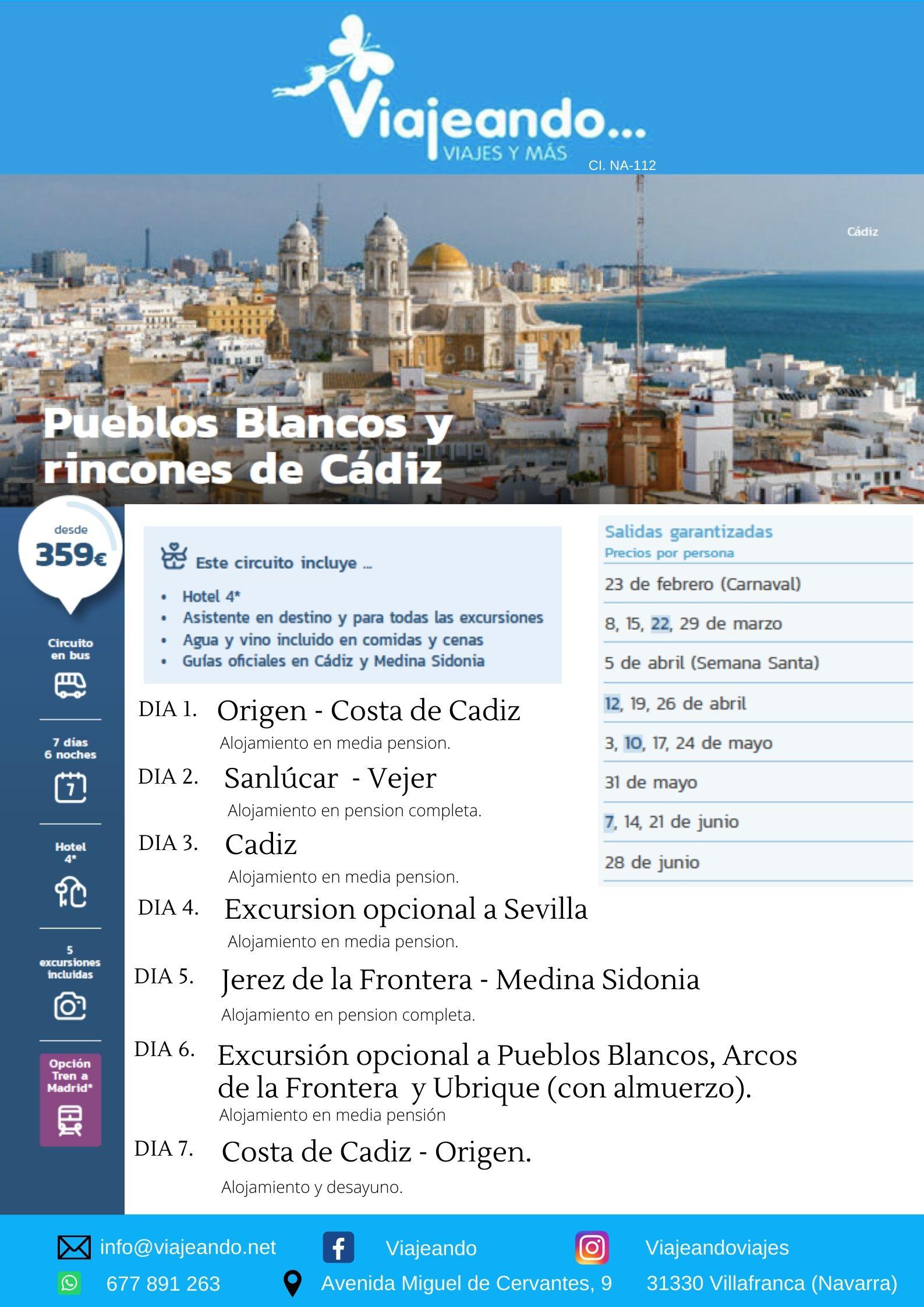 Pueblos Blancos, Cadiz